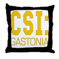 CSI Gastonia Throw Pillow