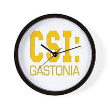 CSI Gastonia Wall Clock