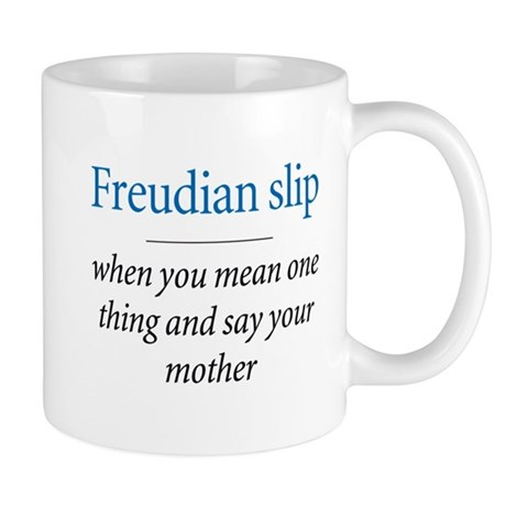 Freudian slip - Mug by shirtspot