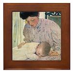 Smith's Ages of Childhood Framed Tile