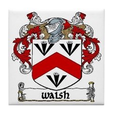 Walsh Coat of Arms Ceramic Tile