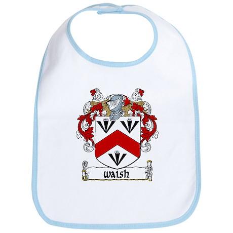 Walsh Coat of Arms Bib