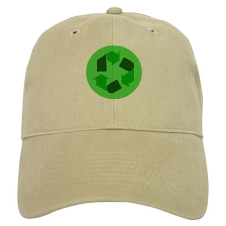 Recycle Green Symbol Cap