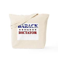 BARACK for dictator Tote Bag