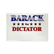 BARACK for dictator Rectangle Magnet