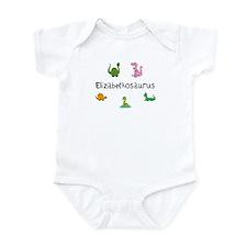 Elizabethosaurus Infant Bodysuit