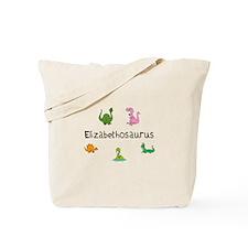 Elizabethosaurus Tote Bag