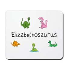 Elizabethosaurus Mousepad