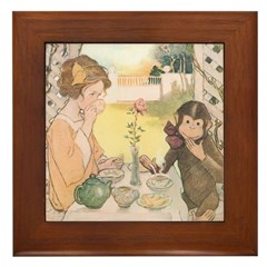Smith's Beauty and the Beast Framed Tile