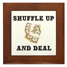 Shuffle up Framed Tile