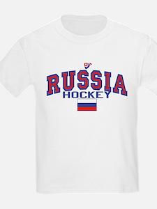 RU Russia Hockey 17 T-Shirt