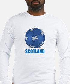 Unique Scottish soccer Long Sleeve T-Shirt