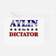 AYLIN for dictator Greeting Card