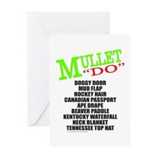 MULLET Greeting Card