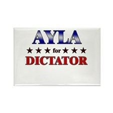 AYLA for dictator Rectangle Magnet