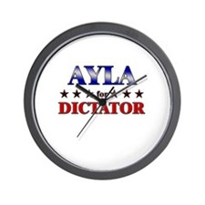 AYLA for dictator Wall Clock