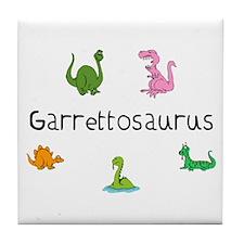 Garrettosaurus Tile Coaster