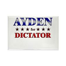 AYDEN for dictator Rectangle Magnet