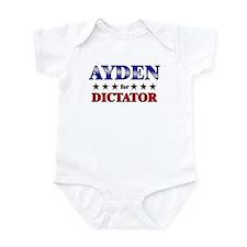 AYDEN for dictator Infant Bodysuit