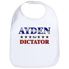 AYDEN for dictator Bib