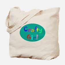 Crafty Girl Tote Bag
