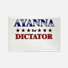 AYANNA for dictator Rectangle Magnet