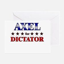 AXEL for dictator Greeting Card