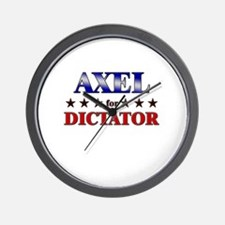 AXEL for dictator Wall Clock