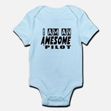I Am Pilot Infant Bodysuit