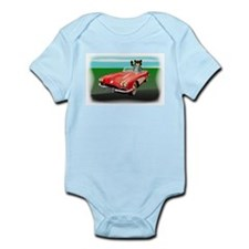 Classic Corvette Bear Infant Creeper