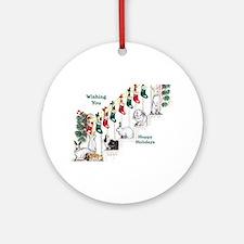 Vey Warren Ornament (Round)