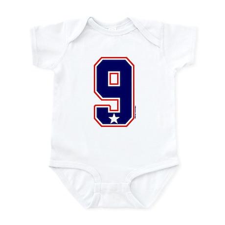 US(USA) United States Hockey 9 Infant Bodysuit