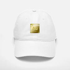 Gold (Au) Baseball Baseball Cap
