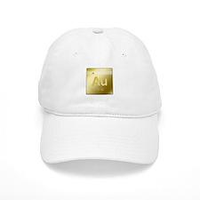 Gold (Au) Baseball Cap