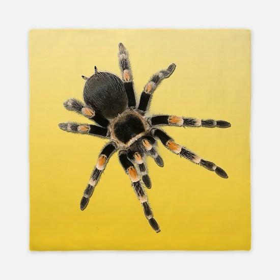 Tarantula Spider Yellow Queen Duvet
