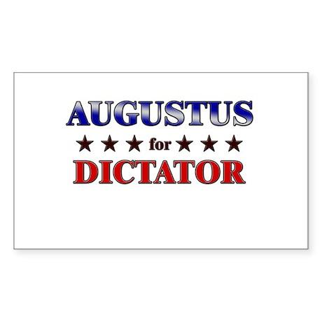 AUGUSTUS for dictator Rectangle Sticker