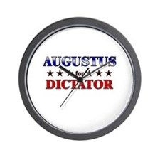 AUGUSTUS for dictator Wall Clock