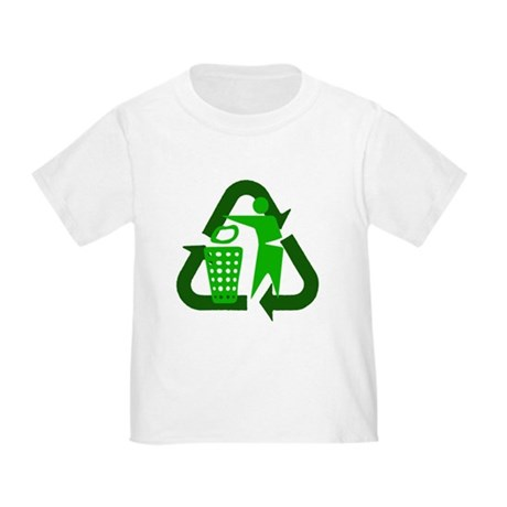 Recycle Person Toddler T-Shirt