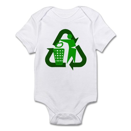 Recycle Person Infant Bodysuit