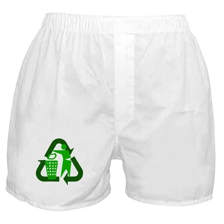 Recycle Person Boxer Shorts