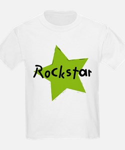 Rockstar in green T-Shirt