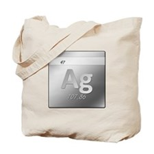 Silver (Ag) Tote Bag