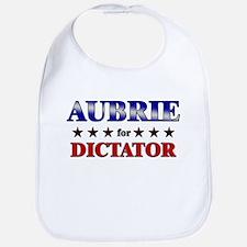 AUBRIE for dictator Bib