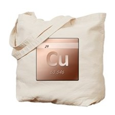 Copper (Cu) Tote Bag