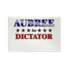AUBREE for dictator Rectangle Magnet