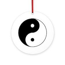 Yin Yang Taijitu Ornament (Round)