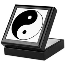 Yin Yang Taijitu Keepsake Box