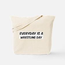 Wrestling everyday Tote Bag