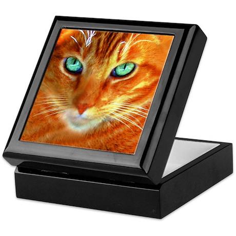 We Love Orange Cats Keepsake Box
