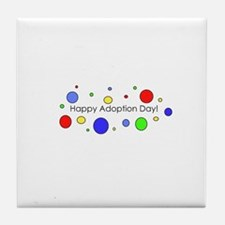 Happy Adoption Day Tile Coaster